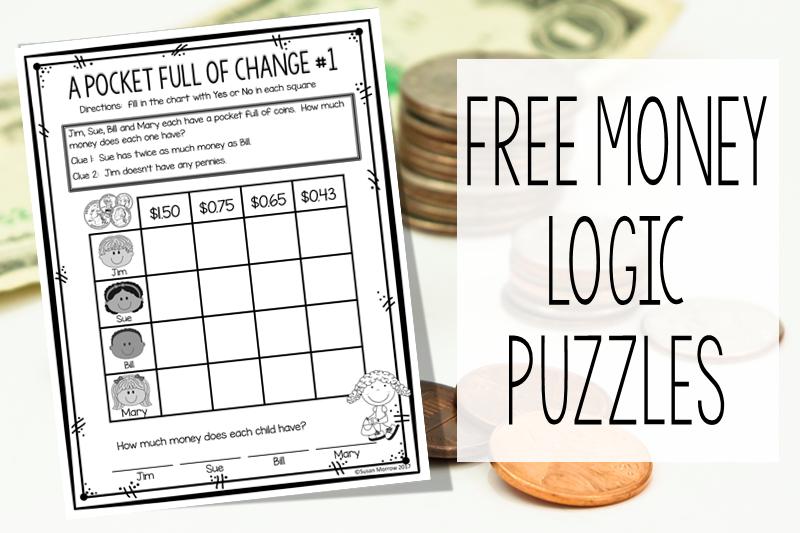 KEEP EM THINKING FREE MONEY LOGIC PUZZLES