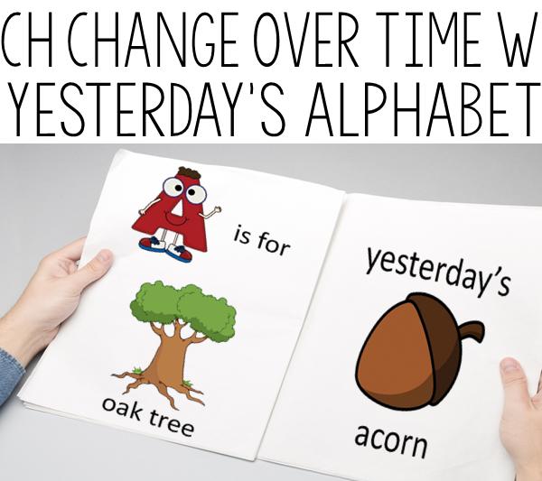 KEEP EM THINKING YESTERDAY'S ALPHABET