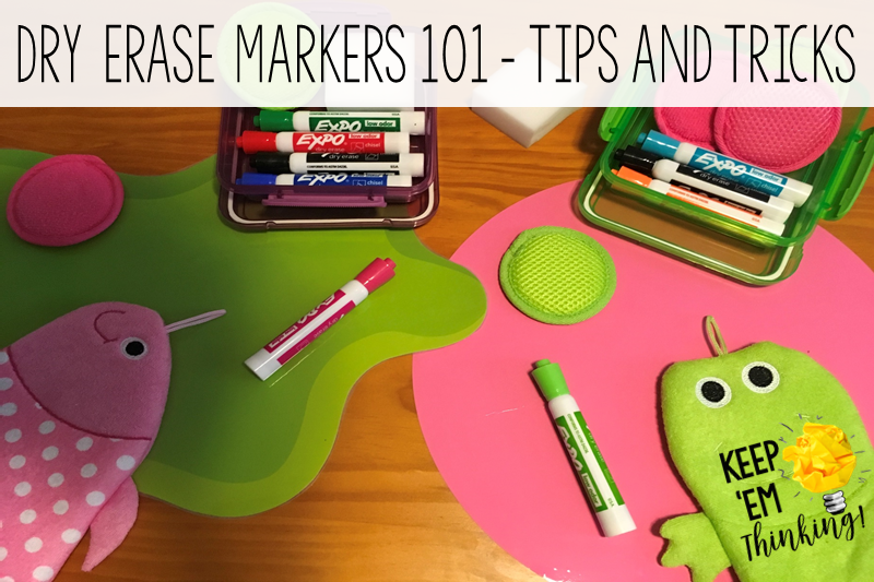 Dry Erase Markers 101 – Tips and Tricks to Make Your Life Easy