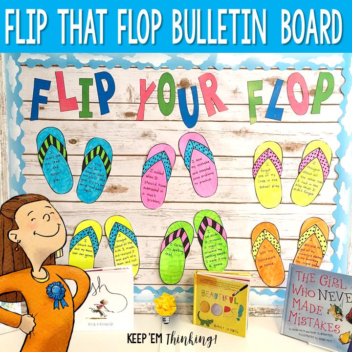 Flip That Flop Bulletin Board