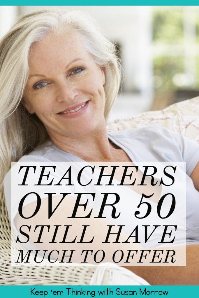 Teachers over 50