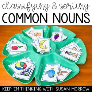 product to classify and sort common nouns