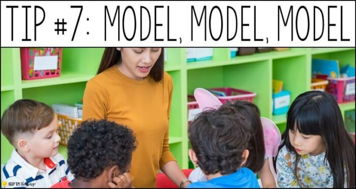 You need to model writing for reluctant writers