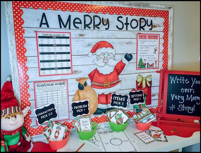 WRite a Merry Story Writing Center