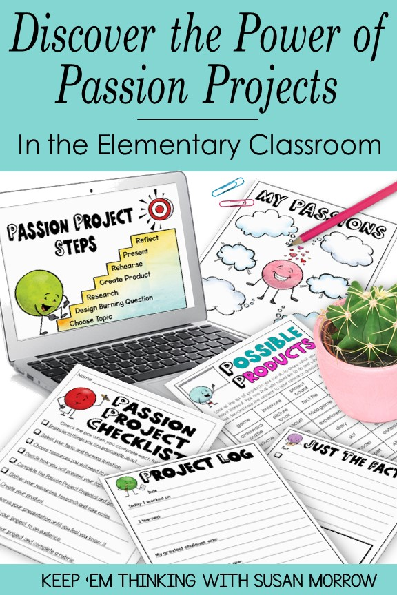 Passion Projects for Elementary Classrooms