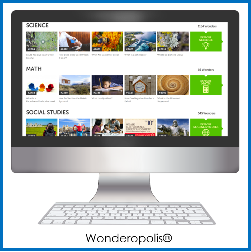 Wonderopolis for Passion Projects
