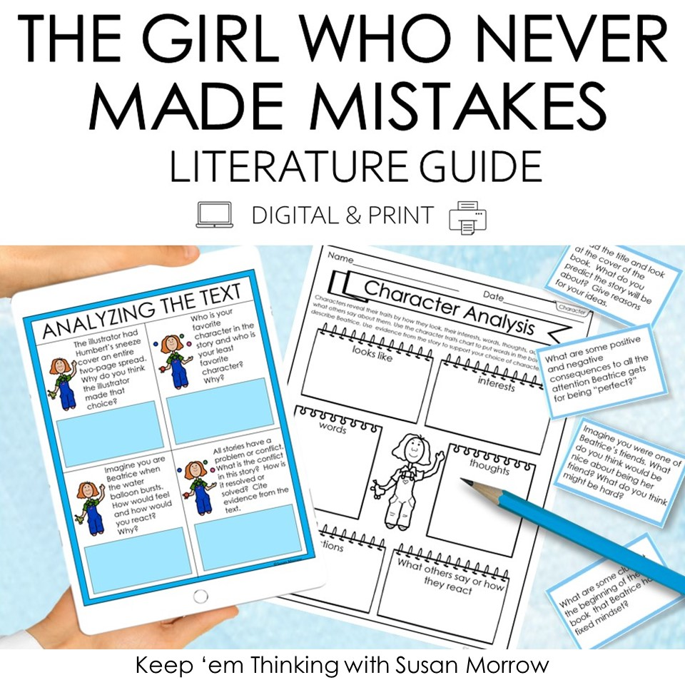The Girl who never made mistakes book companion