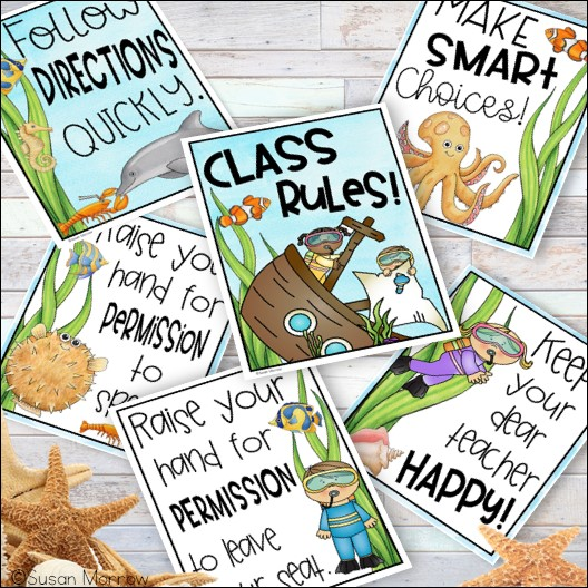 class rules as a classroom management tool