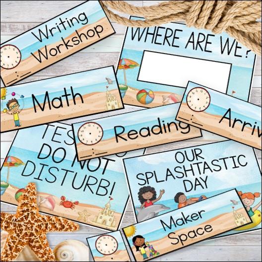 using a class schedule as a classroom management tool