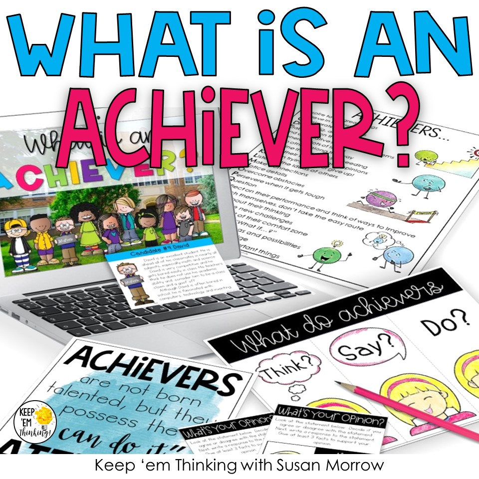 what is an achiever product cover