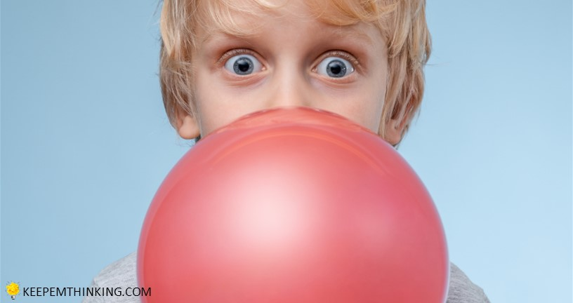 September Picture Books and Activities for National Chewing Gum Day