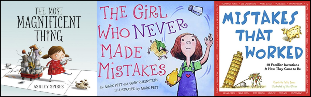 picture books to teach kids about mistakes
