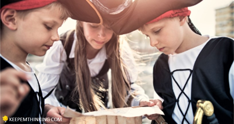 September Picture Books and Activities for National Talk  Like a Pirate Day